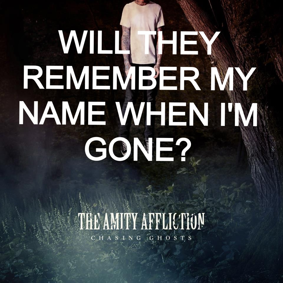 the amity affliction chasing ghosts wallpaper