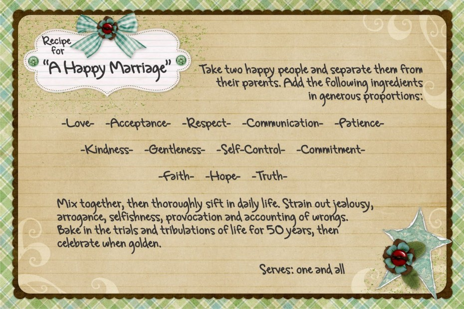essay on happy married life Essays related to married life 1 was already married to nancy barbato with years and have been very happy and in that instant his whole life flashed in.