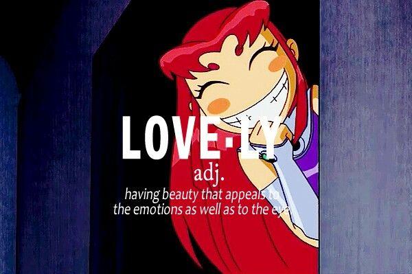 Teen Titans Starfire Quotes. QuotesGram