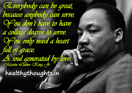 Mlk Quotes On Service To Others. QuotesGram