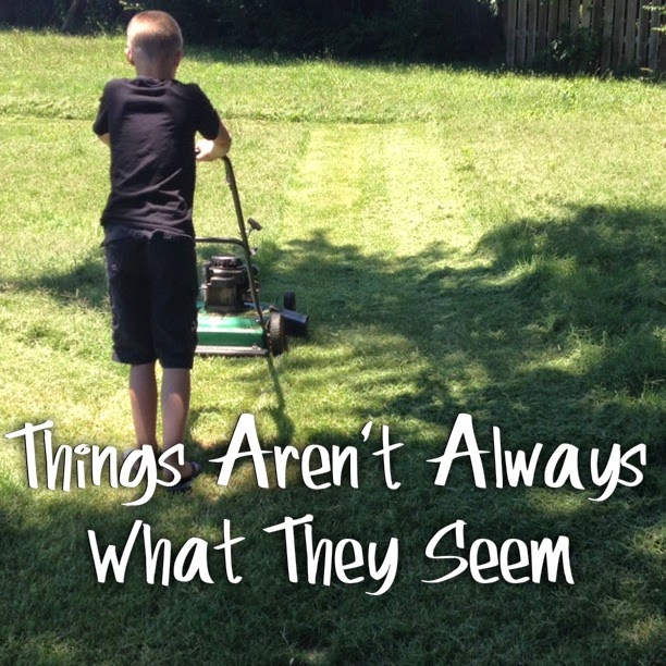 things arent always what they seem essay Essay antonio garza english things arent always what they seem as a hispanic young man, i have witnessed many racial remarks and expressions.