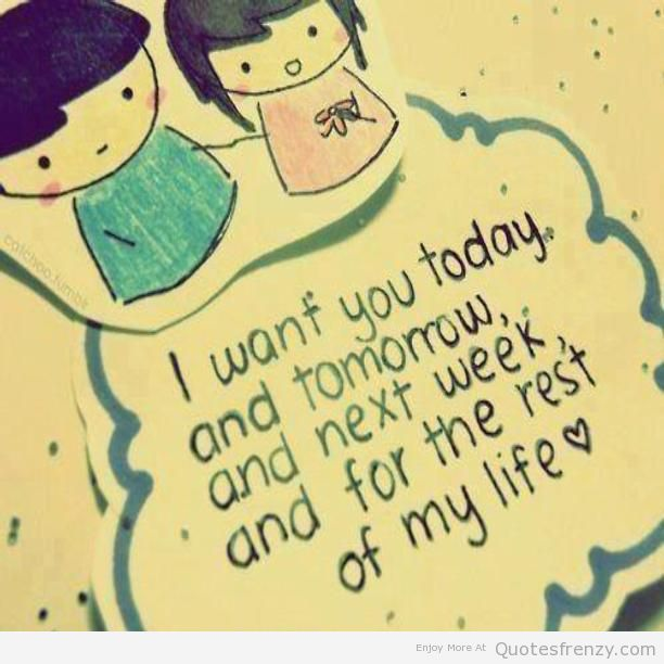 Cute Boy And Girl Quotes: Cute Valentines Quotes For Girlfriend. QuotesGram