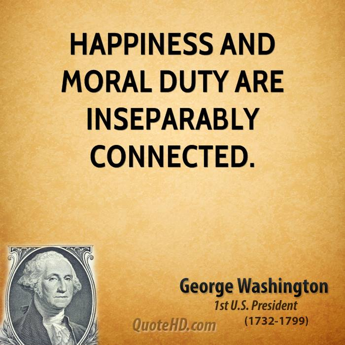 morality and happiness