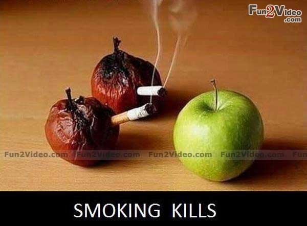 Funny reasons to quit smoking
