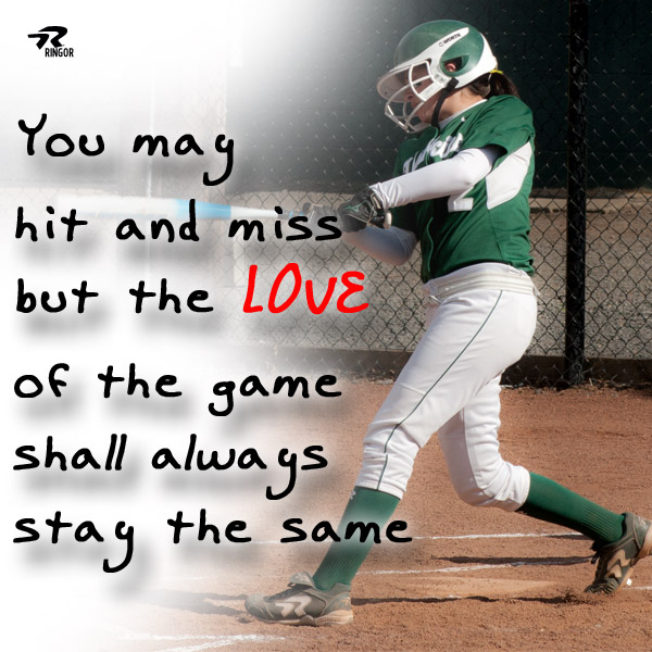 Game Of Love Quotes: Ringer Softball Quotes. QuotesGram