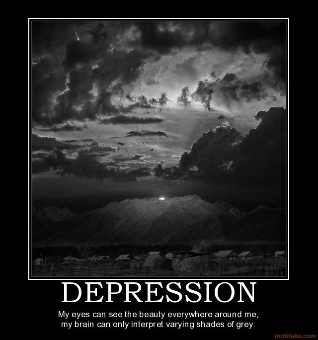 Funny Quotes About Being Depressed. QuotesGram