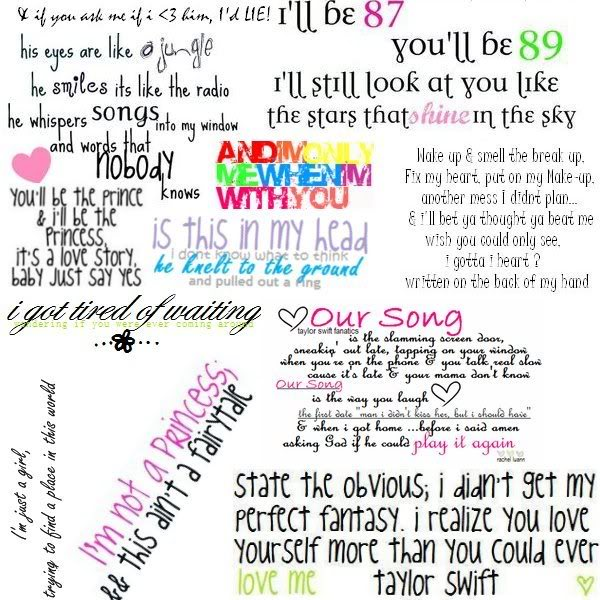 taylor swift song lyric quotes quotesgram