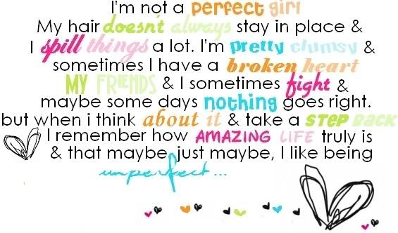 Unperfect Love Quotes....