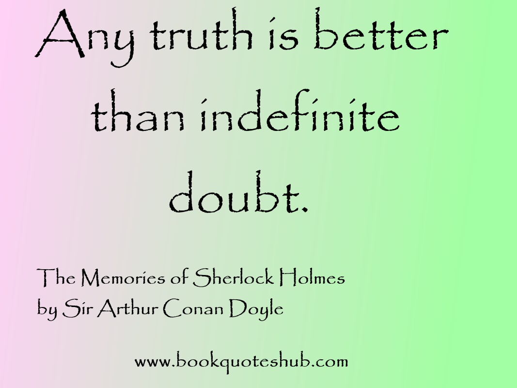 Sherlock holmes quotes about love