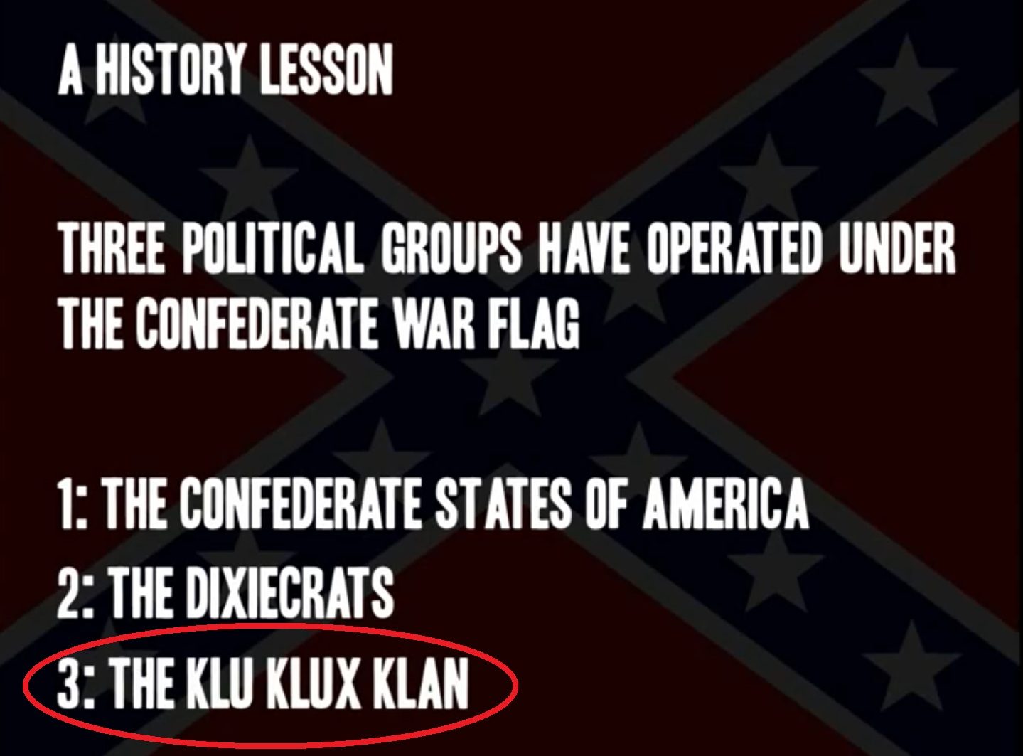 Confederate quotes