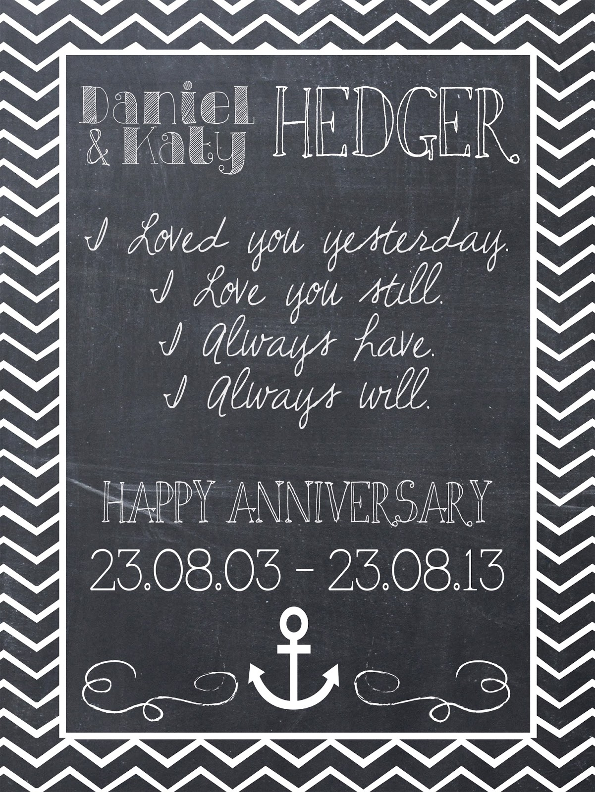 10 Year Wedding Anniversary Ring