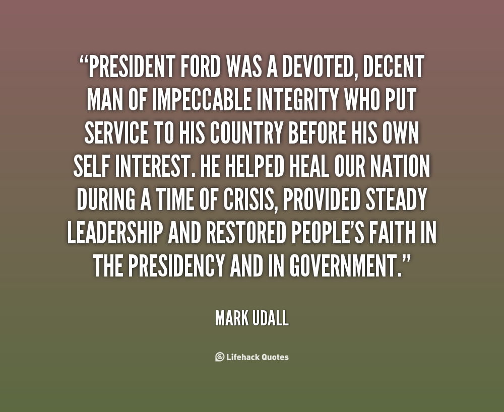President Ford Quotes Quotesgram