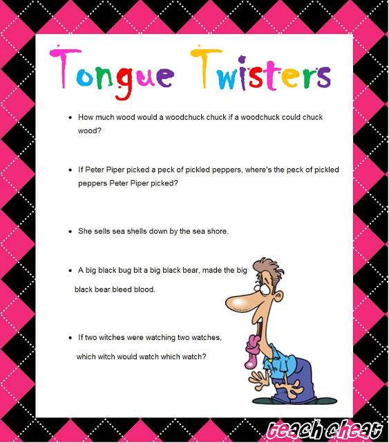 tongue twister quotes quotesgram