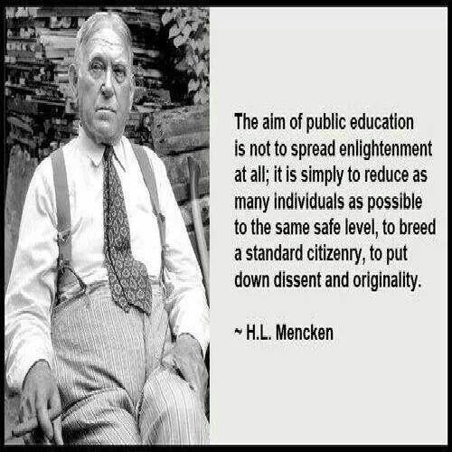Quote By Hl Mencken: H L Mencken Quotes On Education. QuotesGram