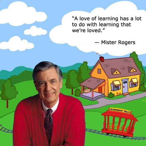 Learning About Mr Rogers Quotes. QuotesGram