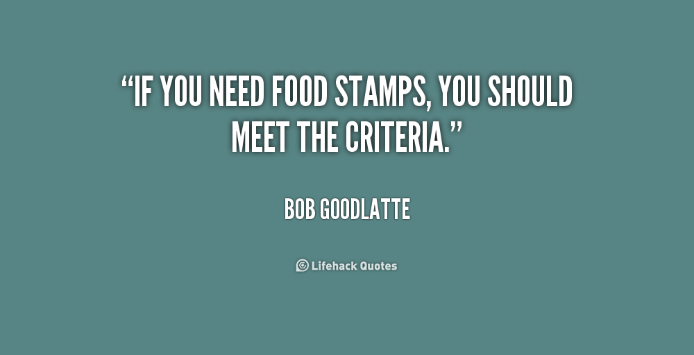 What Do You Need For Food Stamps