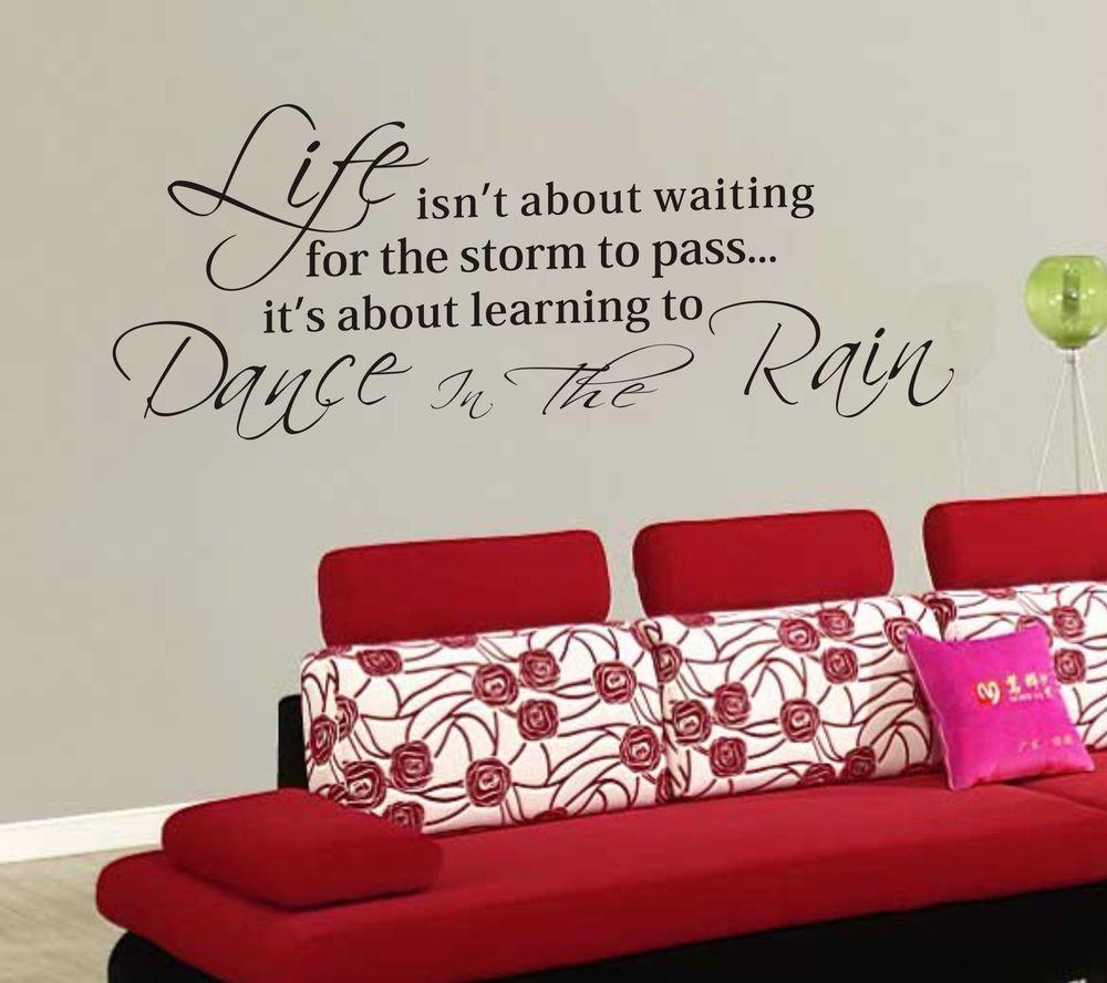inspirational quotes wall decals modern vinyl wall art decals wall motivational