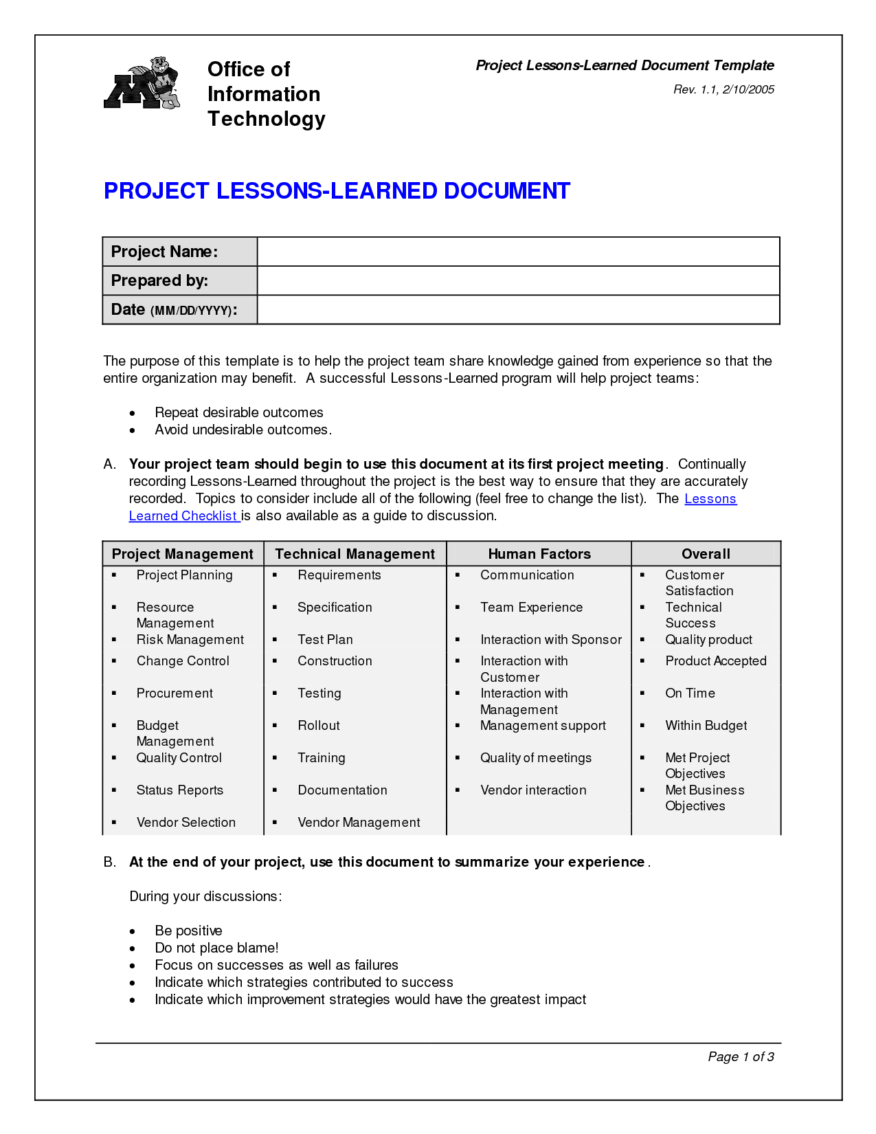 Project lessons learned quotes quotesgram for Project management lessons learnt template
