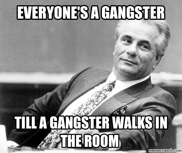 Gangster Quotes And Images: Wannabe Gangster Quotes. QuotesGram