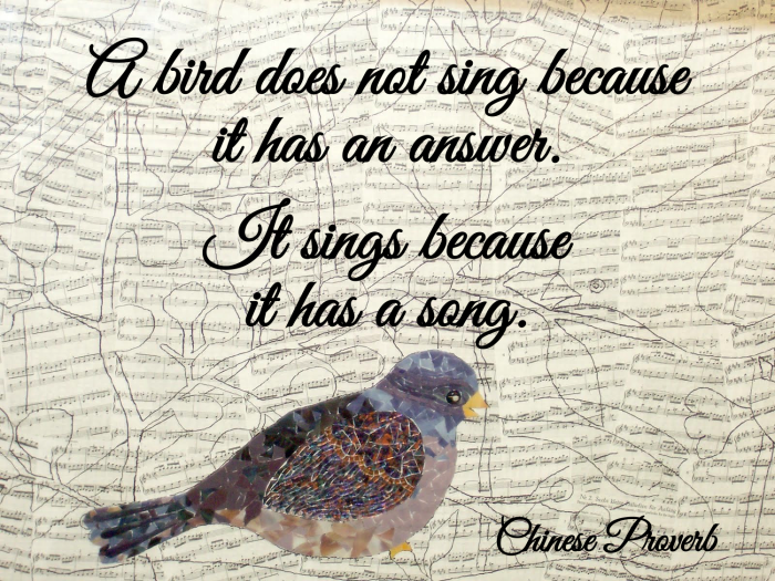 Quotes About Love And Birds Quotesgram: Singing Birds Quotes. QuotesGram