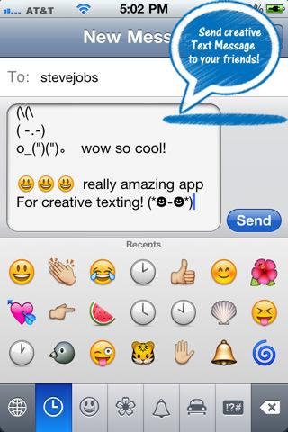 Dirty Text Emoji Art