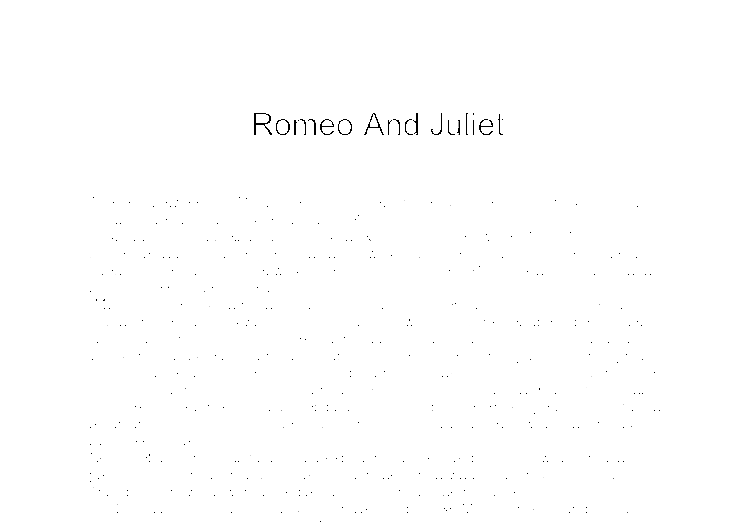 essay on lord capulet in romeo and juliet