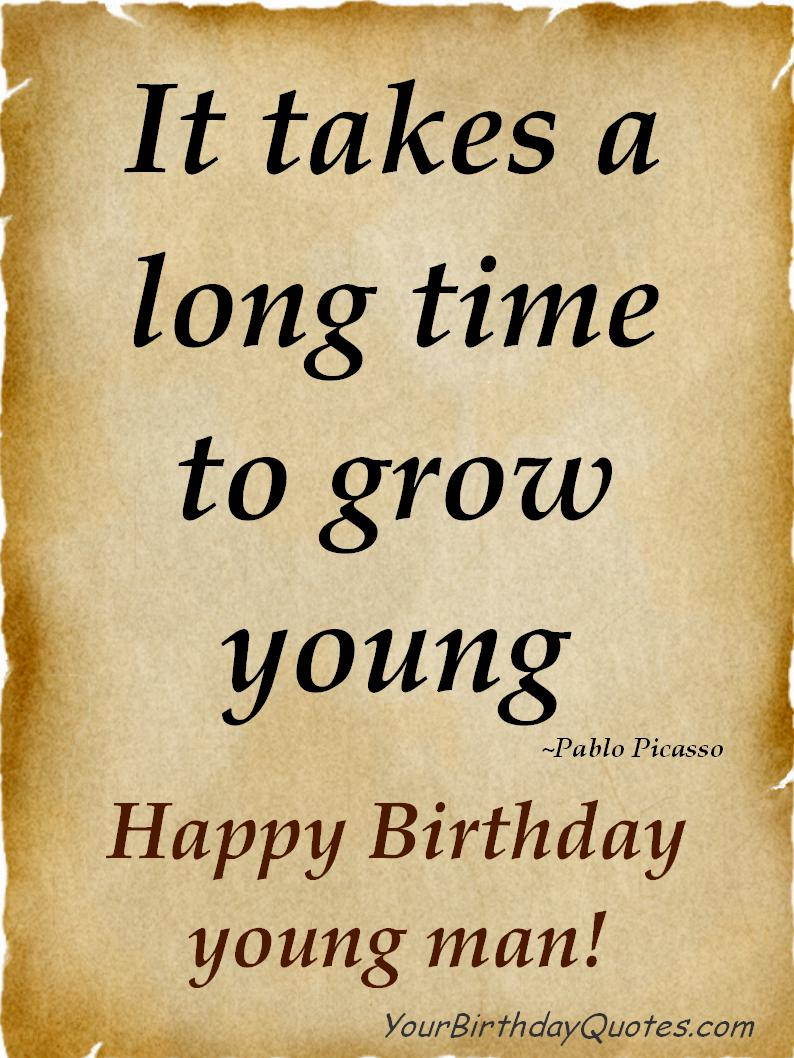Birthday Quotes For Guy Friends Quotesgram