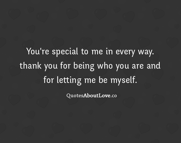 Youre Special To Me Quotes Quotesgram