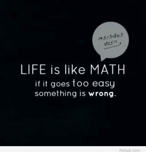 Inspirational Math Quotes. QuotesGram