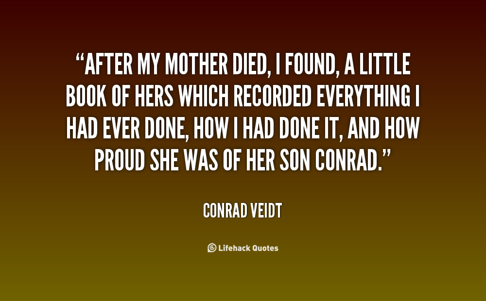 When A Mother Dies Quotes. QuotesGram