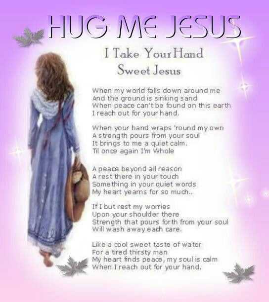 I Want To Cuddle With You Quotes: Hug Me Jesus Quotes. QuotesGram
