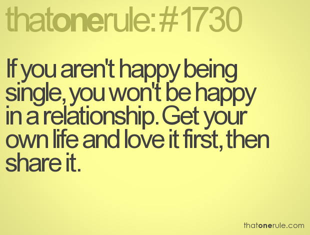Quotes On Being Single And Happy Quotesgram