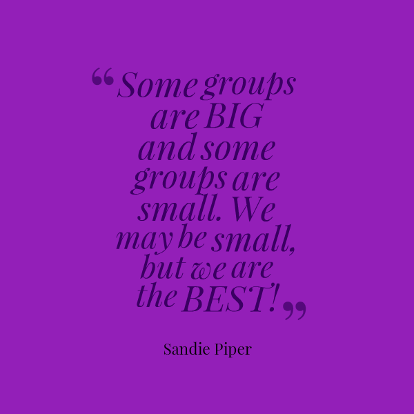Quotes About Small Groups Quotesgram