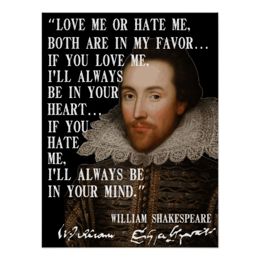 Quotes About Love: Hate Quotes By Shakespeare. QuotesGram