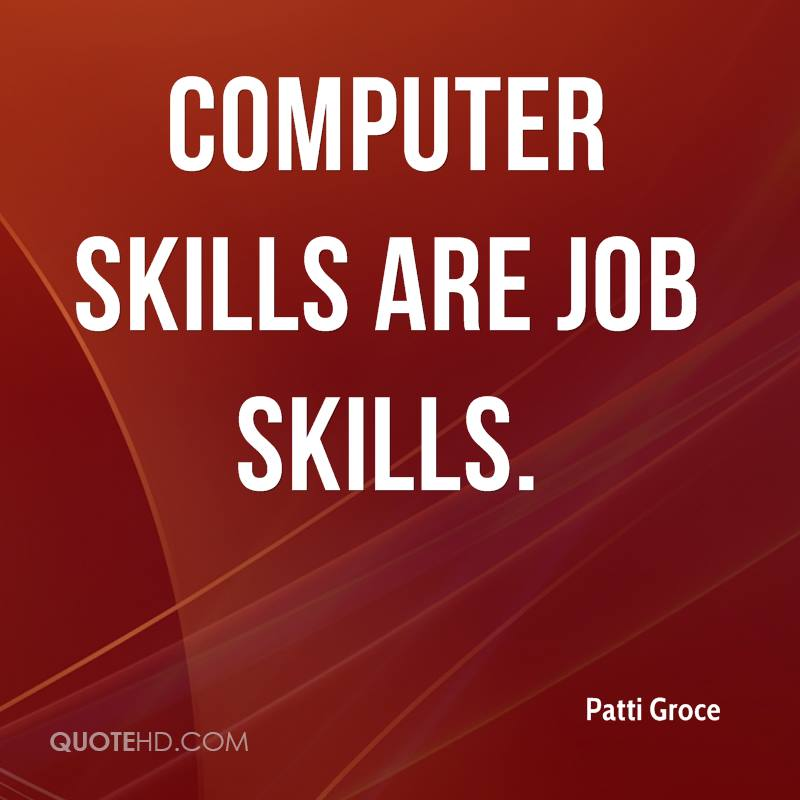 Job Skills Quotes. QuotesGram