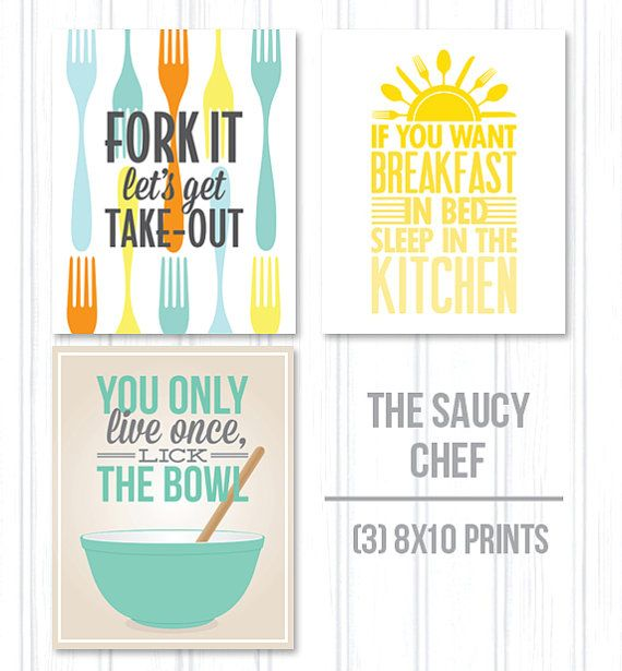 Kitchen Inspirational Quotes: Kitchen Printable Quotes. QuotesGram