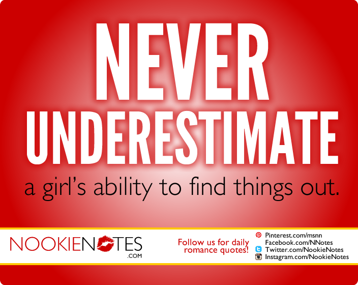 Never Underestimate A Girl Quotes. QuotesGram