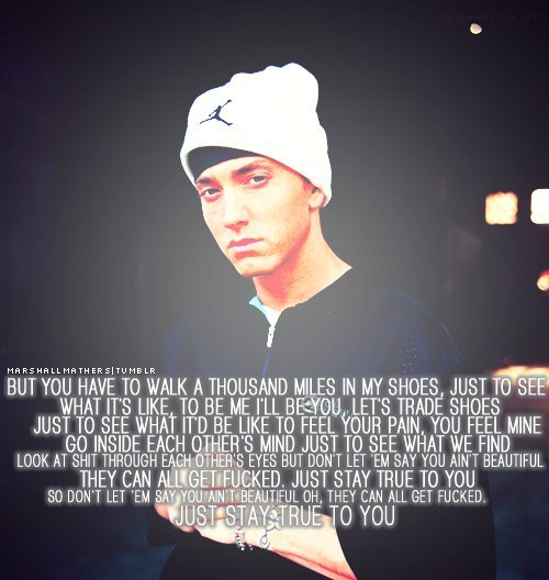 eminem quotes from songs beautiful - photo #14