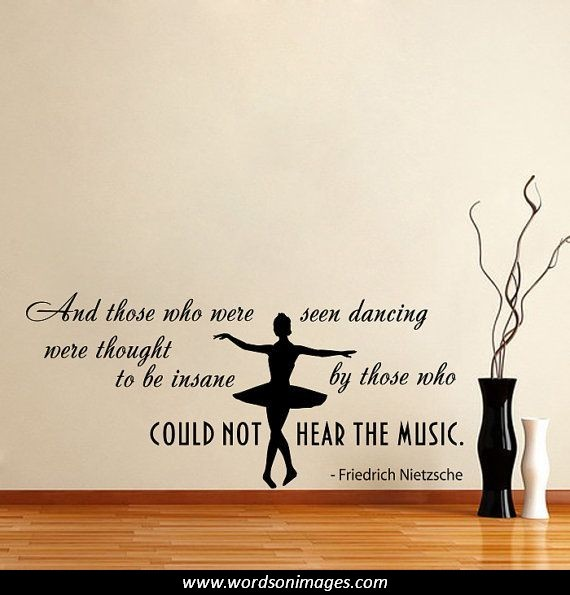 Positive Quotes About Dance Team. QuotesGram