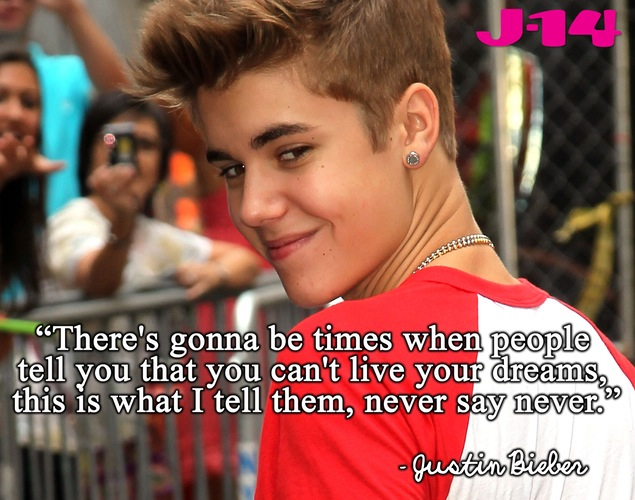 inspirational quotes about justin bieber quotesgram