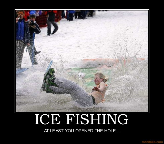 Ice Fishing Quotes. QuotesGram Funny Ice Fishing Jokes