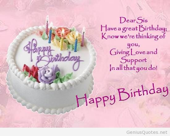 Beautiful Birthday Quotes For Sister. QuotesGram