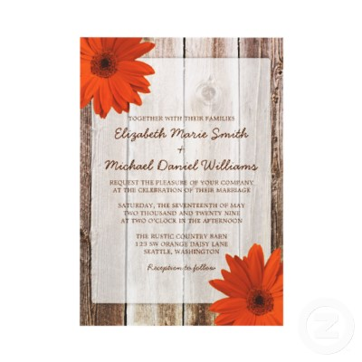 Country Themed Weding Invitations 02 - Country Themed Weding Invitations