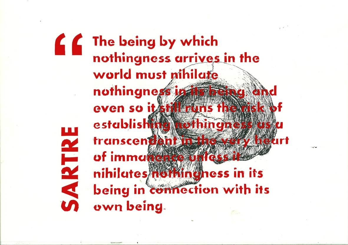 """sartre no exit essay questions Xxxxx xxxxxx xxxx xxxxxxx xxx xx xx xxxxxxx xxxx no exit comparative paper in the play, """"no exit"""" by jean-paul sartre there are vast types of themes in."""