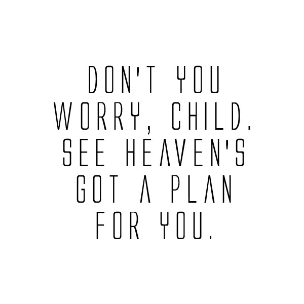 Dont Worry Lyrics Song Download: God Has A Plan For You Quotes. QuotesGram