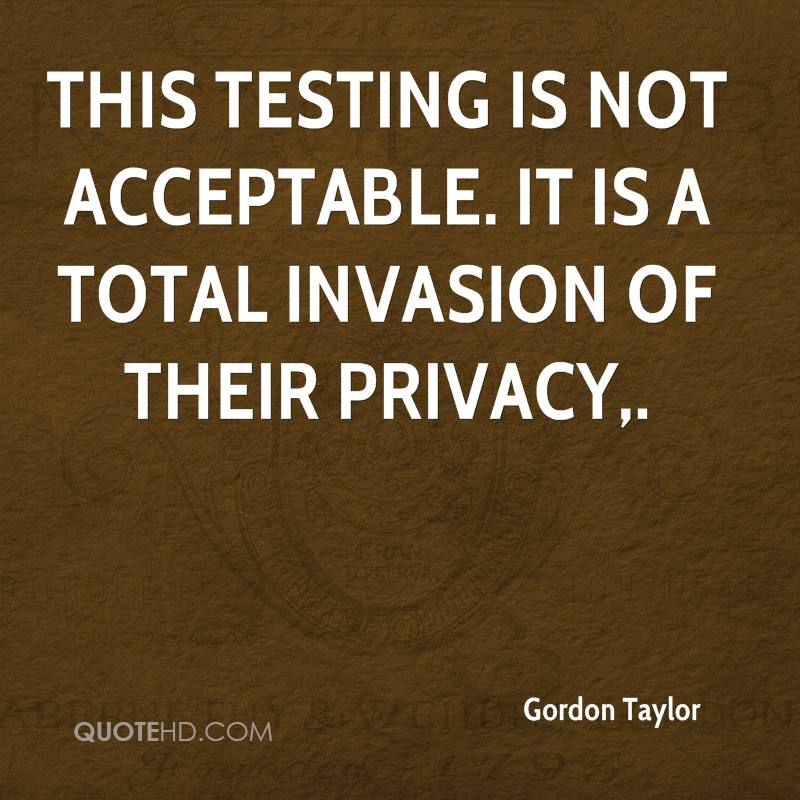 What Is Invasion of Privacy?