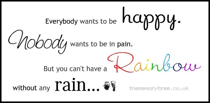 rainbow baby quotes  quotesgram