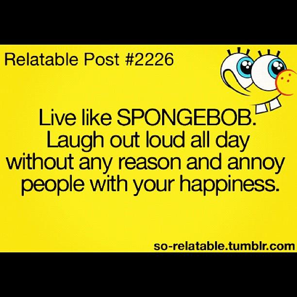Spongebob Inspirational Quotes. QuotesGram