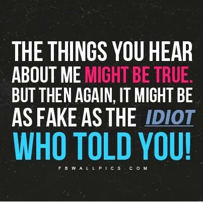 Quotes About Rumors Funny Quotes Ab...
