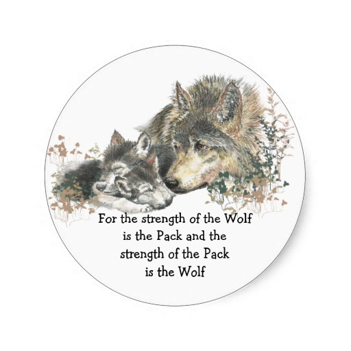 Wolf Family Quotes. QuotesGram